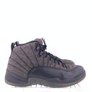 Nike Air Jordan 12 Retro Wool Grey Men's Size 11